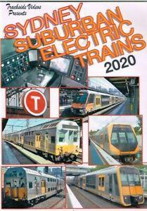 TRACKSIDE VIDEO  SYDNEY SUBURBAN ELECTRIC TRAINS 2020   **DVD**