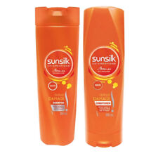 SUNSILK DEFEAT DAMAGE SHAMPOO & CONDITIONER DUO HAIR CARE REPAIR SHOWER  200ml