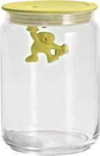 Alessi Gianni Storage Jar Medium Yellow AMDR05 Y