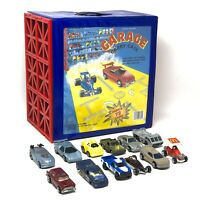 1984 Vintage Tara Toy Corp 72 Car Garage Carry Case ~ 12 cars included