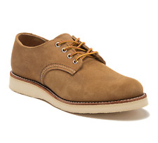 First Quality Red Wing Roughout Hawthorne Foreman Oxfords Weekender Size 9.5D