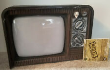 HAUNTED LIVING Lighted Spooky TV LED