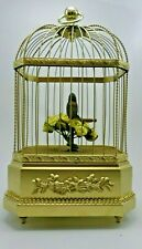 New ListingAntique Victorian Karl Griesbaum K.G.Germany Automaton Musical Singing Birdcage