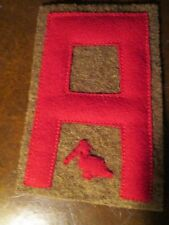 WWI US Army First Army railroad artillery patch AEF