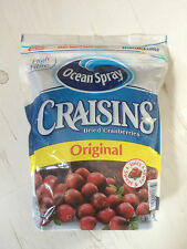 Ocean Spray Craisins Dried Cranberries Original 1.36Kg Re-Sealable Bag Made USA
