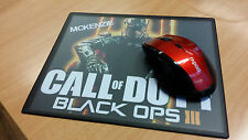 """PERSONALISED CUSTOM """"CALL OF DUTY BLACK OPS 3"""" MOUSE MAT / PAD - PC/Laptop- Gift"""