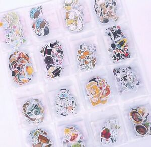 Stickers Paper Lover Stationery Bullet Journal Japanese Style Diary Gift Book