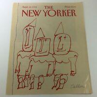 COVER ONLY - The New Yorker Magazine September 22 1986 - Robert Tallon