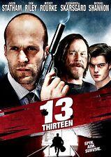 BRAND NEW DVD // 13 THIRTEEN // Jason Statham, Mickey Rourke, Ray Liotta,