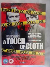 A Touch of Cloth: Series 1 + 2 + 3 (DVD SKY)~~~~John Hannah~~~~NEW & SEALED