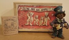 Boyd's Shoe Box Bears The Mad Hatter One Lump or Two Alice in wonderland 3237