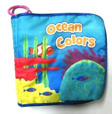 Ocean Colors Soft Cloth Interactive Baby Book Developmental Toy