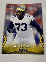 2018 Leaf Draft #40 Maurice Hurst - Gold Rookie Card RC