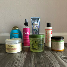 Curly Hair Products Bundle Lot (Carol's Daughter, Shea Moisture, L'Oreal & more)