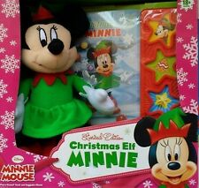 DISNEY  Minnie Mouse Christmas Elf & Play a Sound Book LIMITED EDITION