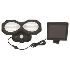 Gardenglo Solar Security Sensor Light 400lm Led, 1.8m Cable, 8m Motion Detection