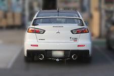 SRS Stainless Dual Catback Exhaust 08-15 Mitsubishi Lancer EVO 10 Evolution x