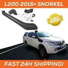Snorkel / Schnorchel for Mitsubishi L200 / Fiat Fullback 2015+ Raised Air Intake