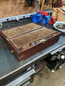 19th Century Mahogany Lap Desk by Joseph Bramah For Restoration