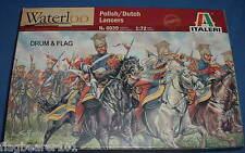 ITALERI 6039. POLISH / DUTCH LANCERS. NAPOLEONIC ERA. 1:72 SCALE PLASTIC