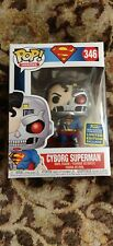 Cyborg Superman Funko Pop SDCC SHARED EXCLUSIVE IN HAND! Fast FREE Shipping!