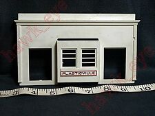 Plasticville Union Station Back Piece O-S Scale