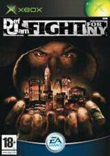 Def Jam Fight for NY (Xbox, 2004) PAL Disc Mint Retro ~Fast & Free Postage~ OVA