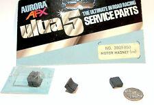 2pc 1977 Aurora AFX SpeedSteer Ultra5 MOTOR MAGNETS Service Part #3809 Bubbled