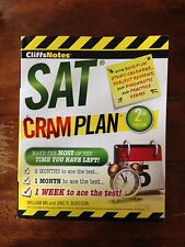 CliffsNotes SAT Cram Plan 2nd Edition by Jane R. Burstein and William Ma...
