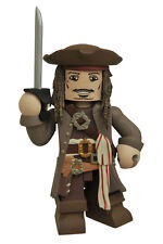 Pirates Of The Caribbean Dead Men Teel No Tales Jack Sparrow Vinimate Figure