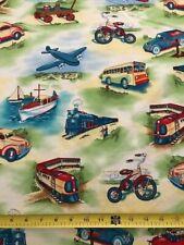 Transit Fabric by Michael Miller- 1 Yard Piece