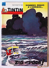 b)TINTIN du 8/09/1964  N°36; L'Aviation Britannique
