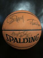 02-03 Pheonix Suns Team Signed Basketball (16 Signatures)