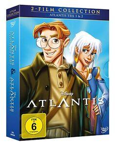 Atlantis - Teil: 1 + 2 [2 DVDs/NEU/OVP] Walt Disney Klassiker