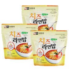 Korean Food Cheese Noodle&Rice Ramenbap Korean MRE Hot Water Need Only * 3EA