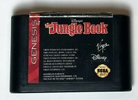 The Jungle Book Sega Genesis Game Only - Cleaned Tested And Working