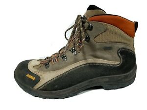 Asolo FSN 95 GTX Beige, Brown & Orange Hiking Backpacking Gore-Tex Boots 11 US