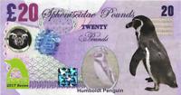2017 Penguin Series 🐧 HUMBOLDT PENGUIN 🐧 20 Spheniscidae Pounds 🐧Fantasy Note
