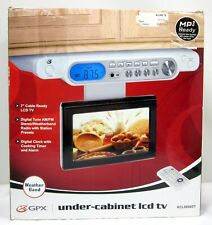GPX KCL8806DT Under Counter 7 Inch LCD TV - Brand New