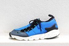 NIKE AIR FOOTSCAPE NM TRAINERS HYPER COBALT/BLACK UK 9 & 11EUR 44 & 46 RRP £110