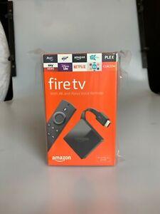 Amazon fire tv 4k box 4k Ultra HD with Alexa Voice Remote