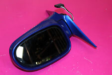 MERCEDES SLK 230 R170 KOMPRESSOR OSF DRIVER SIDE WING MIRROR IN BAHAMA BLUE