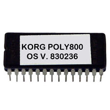 Korg Poly - 800 versione 830236 latest OS firmware update upgrade  EPROM