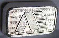 A MARK 1981 ART BAR #A167 USVI .999 FINE SILVER STACK VIRGIN ISLANDS 1 TROY OZ