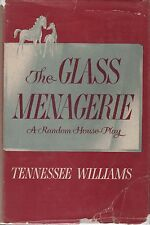 THE GLASS MENAGERIE-TENNESSEE WILLIAMS-1945-1ST/1ST-A SUPERIOR COPY-GREAT GIFT!