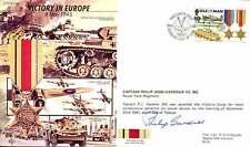 JS50 45/12B Segunda Guerra Mundial de la segunda guerra mundial ve IOM RAF FDC Cubierta firmado Gardner VC