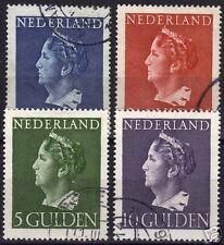 Netherlands 1946 NVPH 346-349 CANC VF