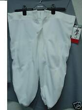 Youth Practice Football Pants Slotted White Large  L NEW