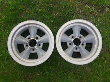 2 Torque Thrust Wheels 14 X 6 Chevy 4 34 Gasser
