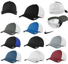 NIKE, MID-PROFILE, MESH BACK CAP, SWEATBAND, CONTRAST UNDERBILL, S/M M/L L/XL